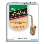 Lavoz Alto Sax Reeds - Medium Hard - Box of 10