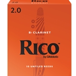 Rico Clarinet Reeds 2.0 - Box of 10