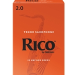 Rico Tenor Sax Reeds 2.0 - Box of 10
