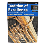 Tradition of Excellence Book 2 - Baritone/Euphonium BC