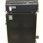 "Ampeg SS-140C Stereo Head with V-4 speaker cabinet (4X12"")"