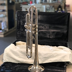 Used Conn 83 B Silver Trumpet
