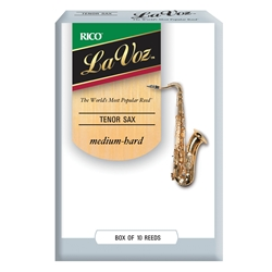 Lavoz Tenor Sax Reeds - Medium Hard - Box of 10