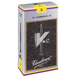 V12 Vandoren Clarinet Reeds 3.0 - Box of 10