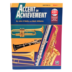 Accent on Achievement Book 1 - Baritone BC