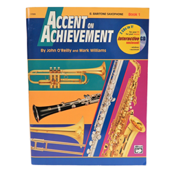 Accent on Achievement Book 1 - Eb Bari Sax