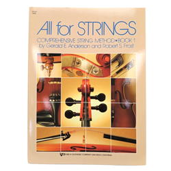 All for Strings Book 1 - Viola