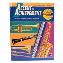 Accent on Achievement Book 1 - Bb Tenor Sax