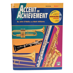 Accent on Achievement Book 1- Bassoon