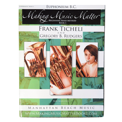 Making Music Matter Book 1 - Baritone/Euphonium BC