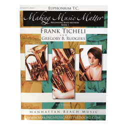 Making Music Matter Book 1 Baritone/Euphonium TC
