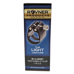 Rovner Bb Clarinet Ligature - Light
